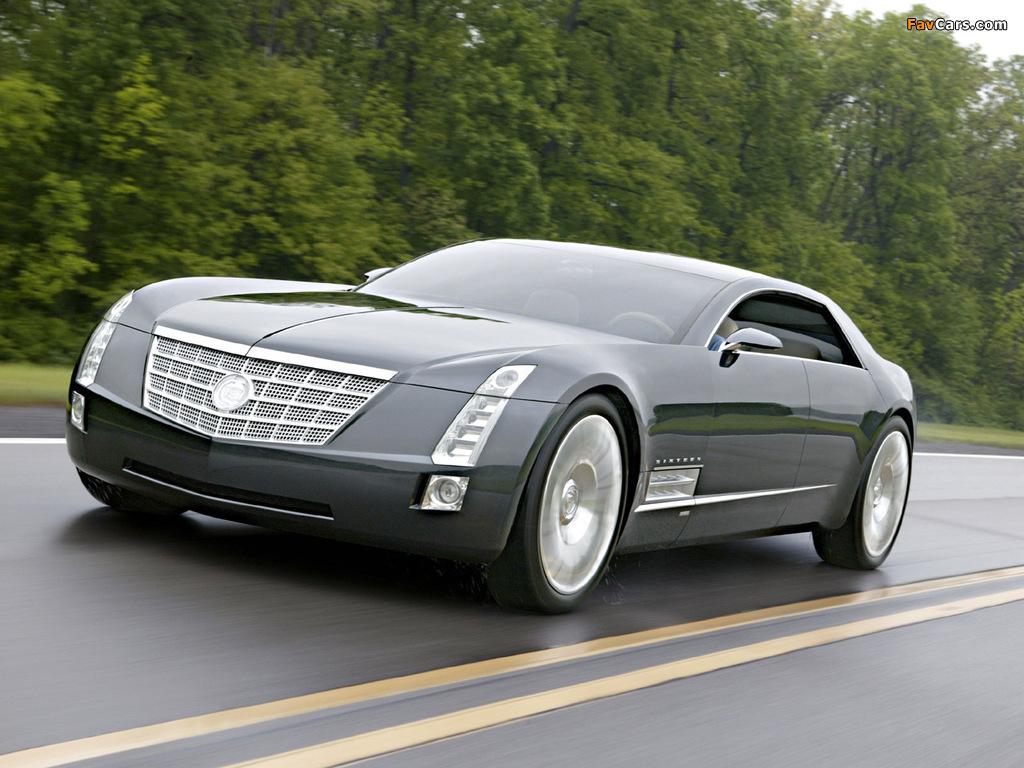 Photos of Cadillac Sixteen Concept 2003 (1024 x 768)