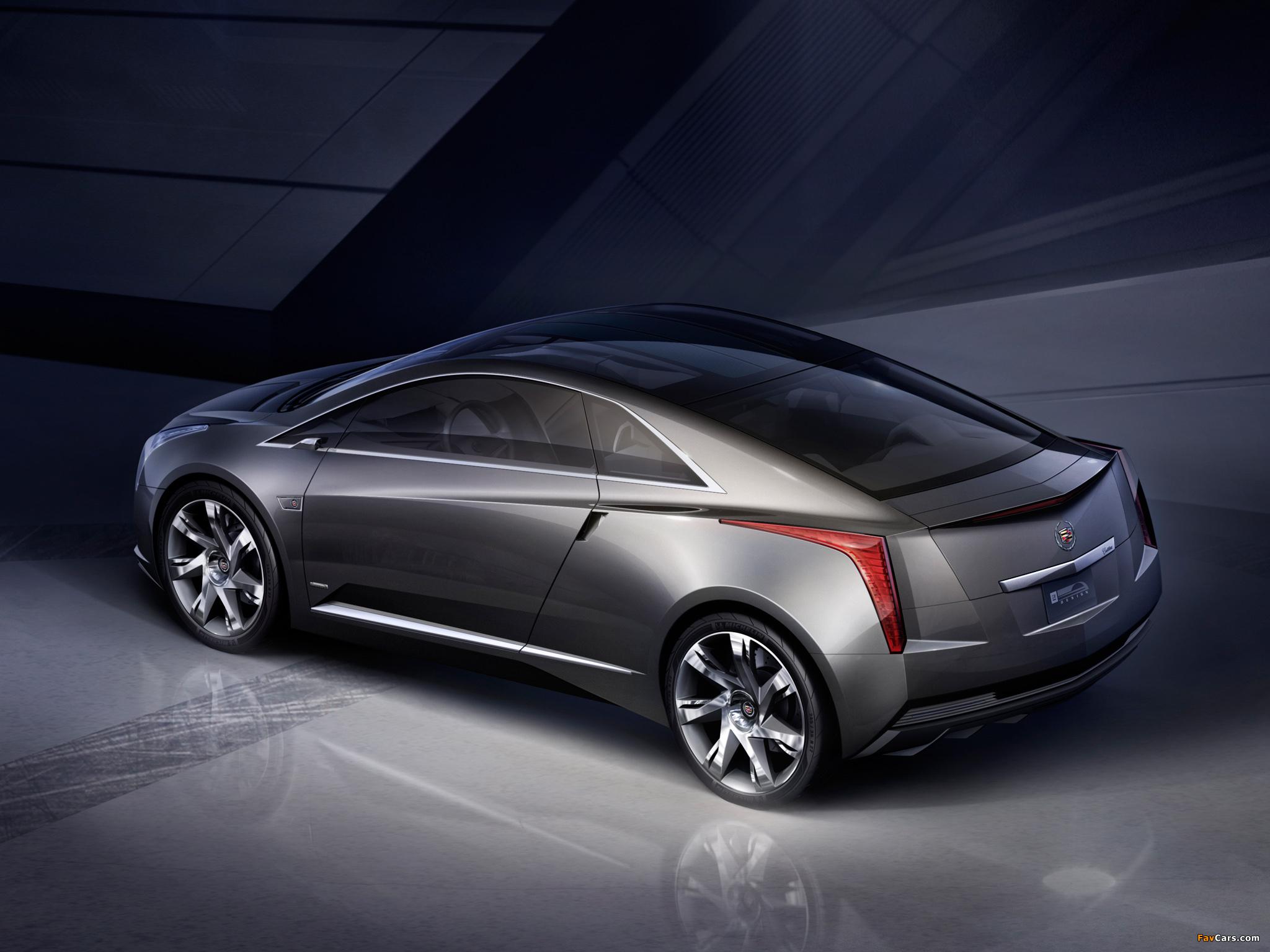 Photos of Cadillac Converj Concept 2009 (2048 x 1536)