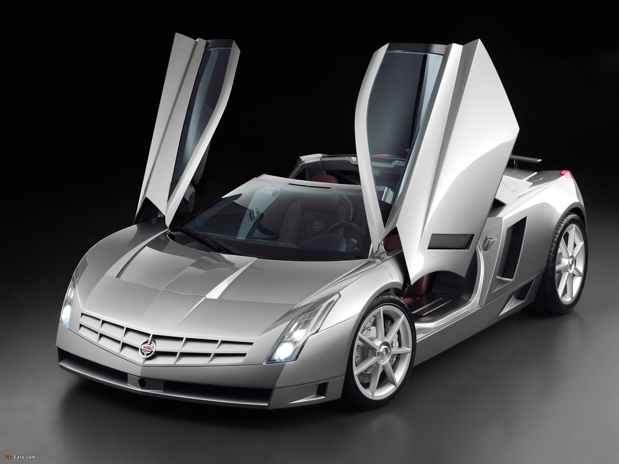 Pictures of Cadillac Cien Concept 2002 (2048 x 1536)