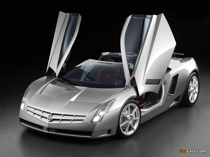 Pictures of Cadillac Cien Concept 2002 (800 x 600)