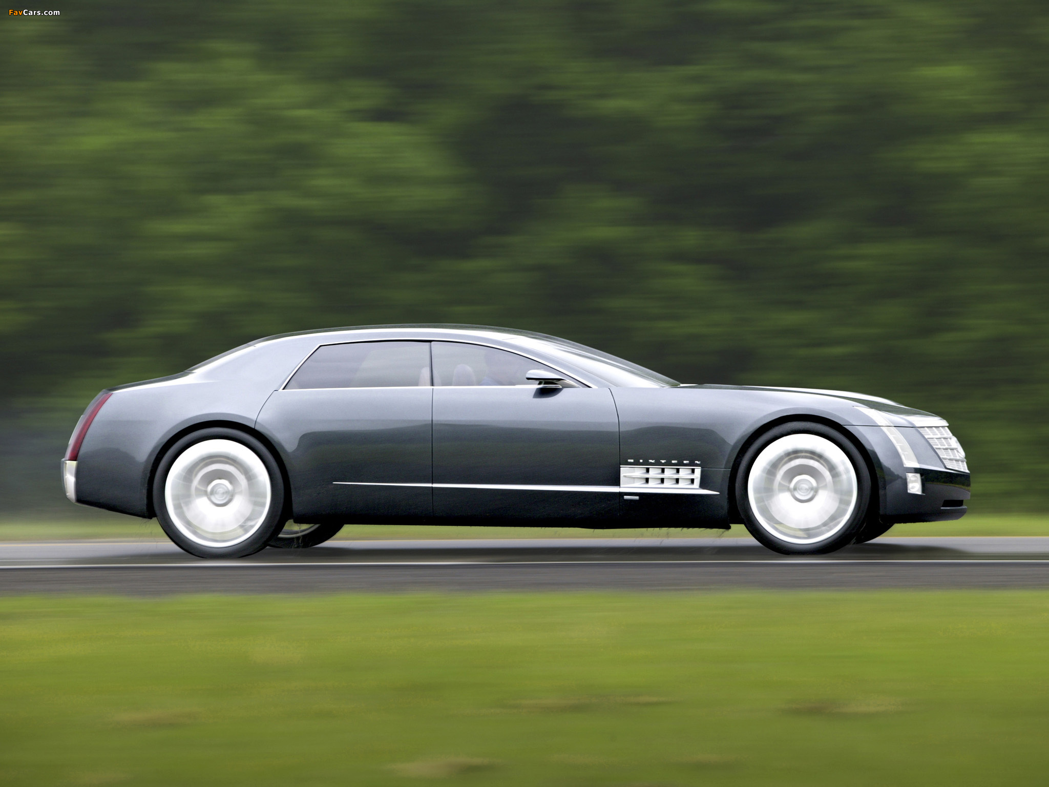 Pictures of Cadillac Sixteen Concept 2003 (2048 x 1536)