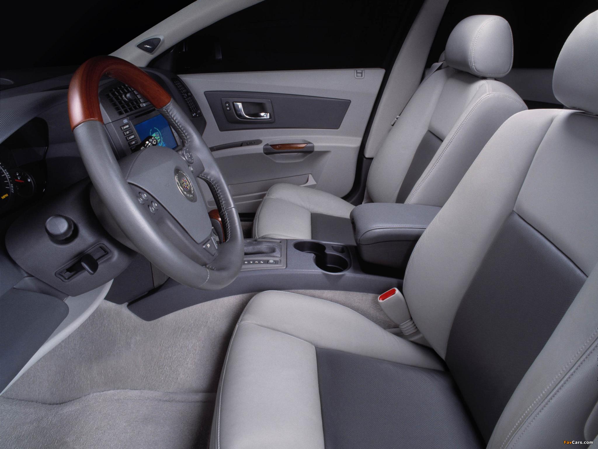 Cadillac CTS 2002–07 photos (2048 x 1536)