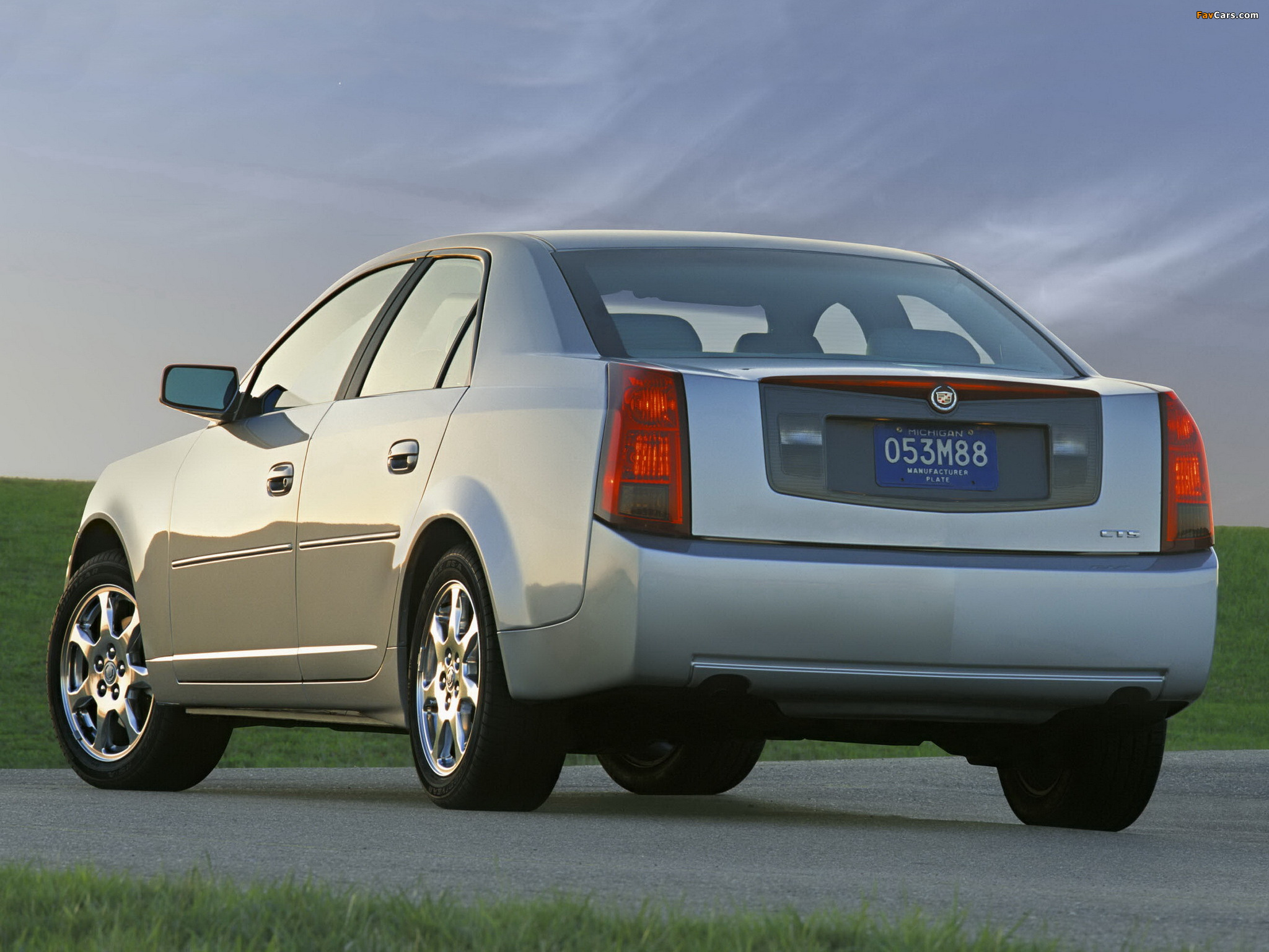 Cadillac CTS 2002–07 wallpapers (2048 x 1536)