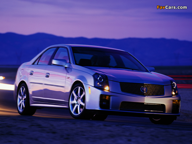 Cadillac CTS-V 2004–07 pictures (640 x 480)