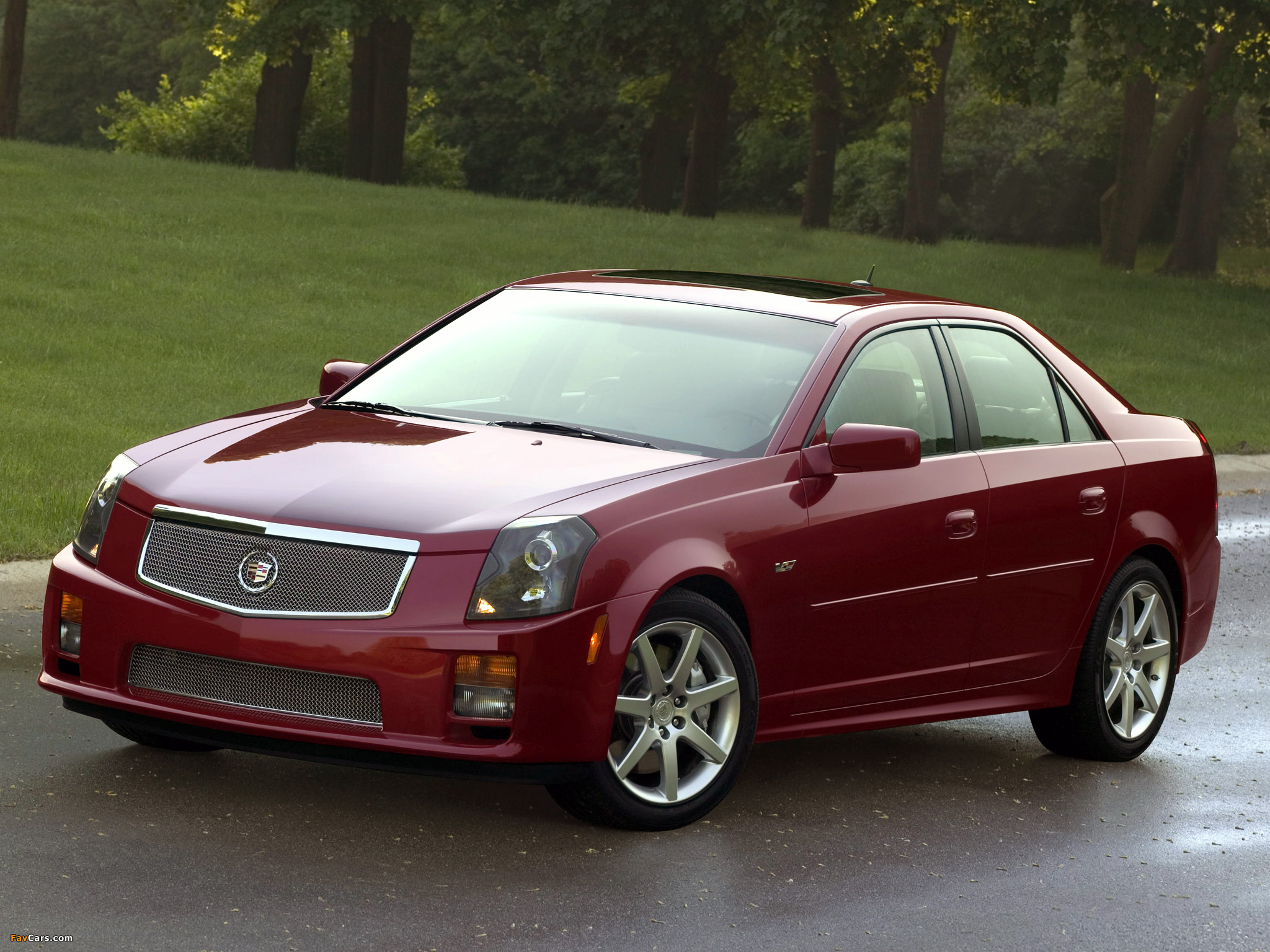 cadillac cts v 2004 07 wallpapers 2048x1536. Black Bedroom Furniture Sets. Home Design Ideas