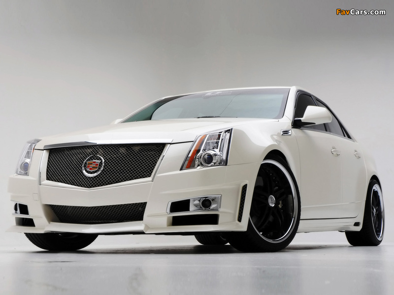 Cadillac Cts By D3 2007 Wallpapers 800x600