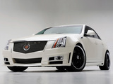 Cadillac CTS by D3 2007 wallpapers