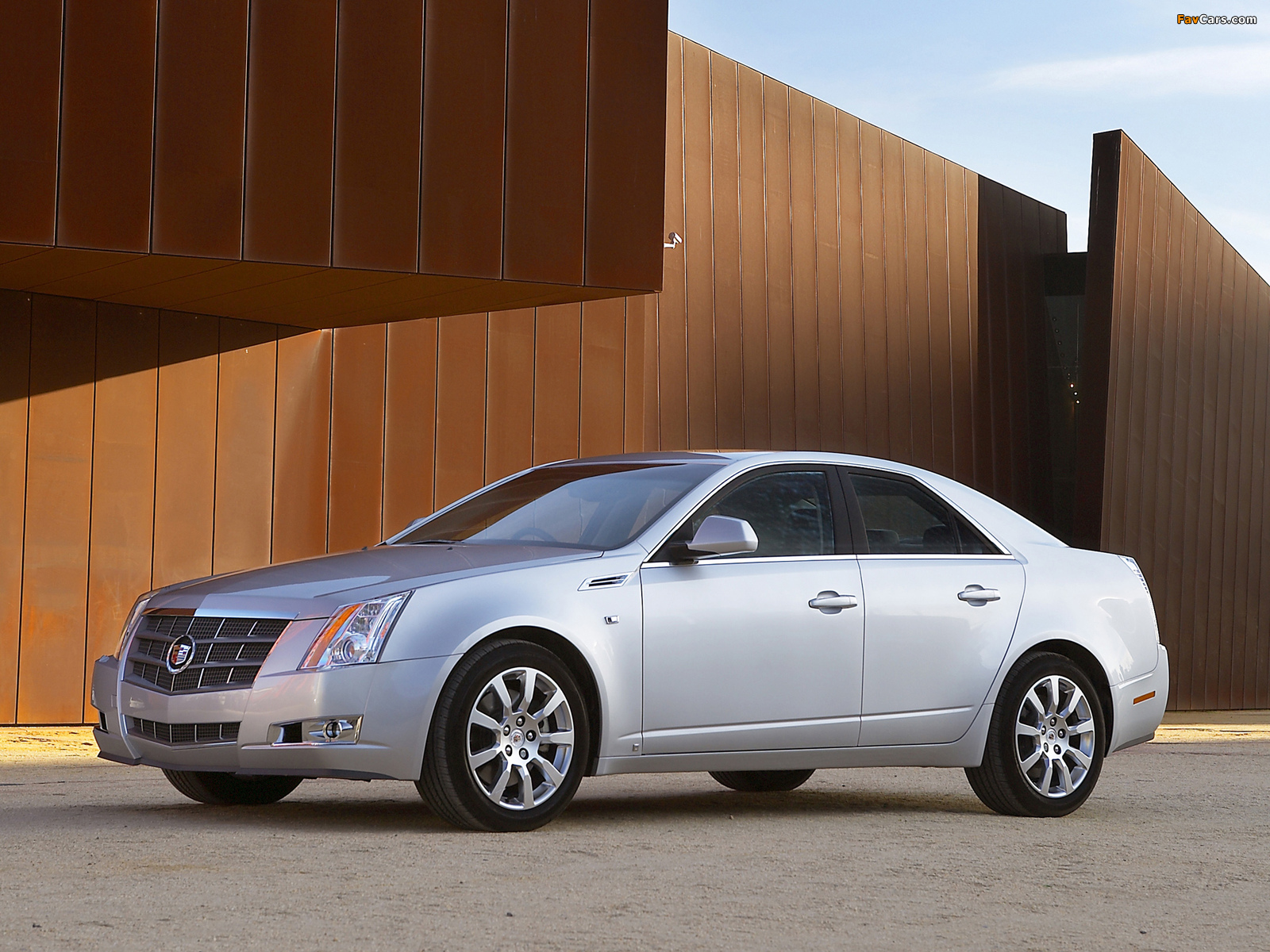 Cadillac CTS UK-spec 2008 images (1600 x 1200)