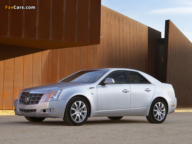 Cadillac CTS UK-spec 2008 images (640 x 480)