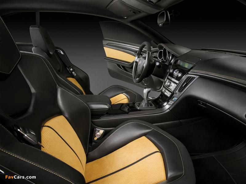 Cadillac CTS Coupe Concept 2008 photos (800 x 600)