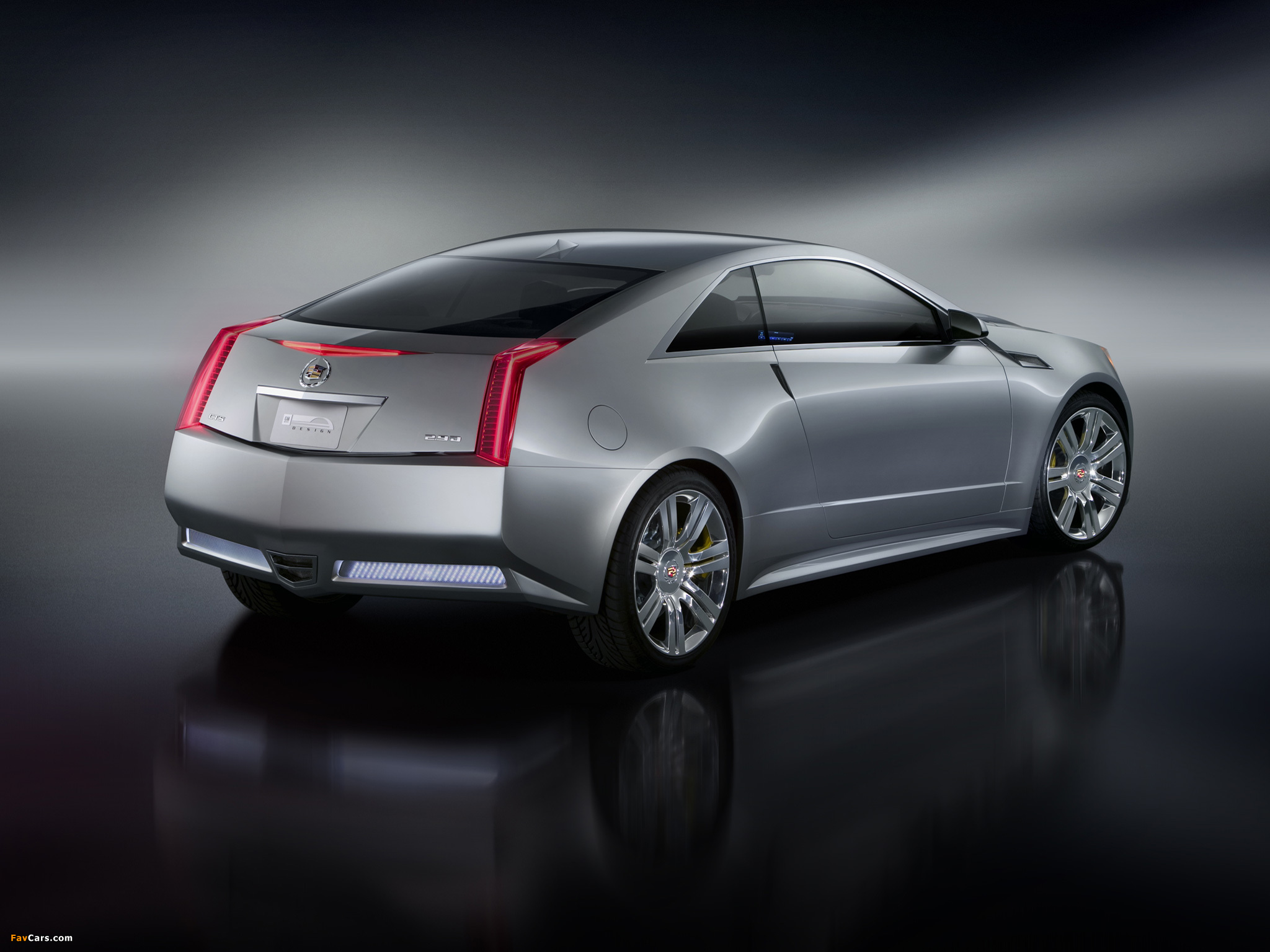 Cadillac CTS Coupe Concept 2008 pictures (2048 x 1536)