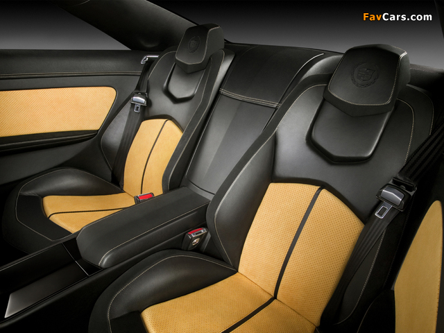 Cadillac CTS Coupe Concept 2008 wallpapers (640 x 480)