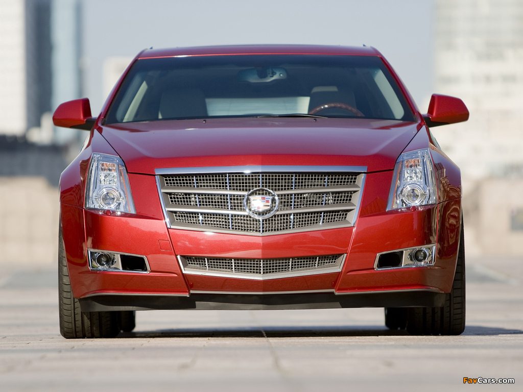 Cadillac CTS Sport Wagon 2009 images (1024 x 768)