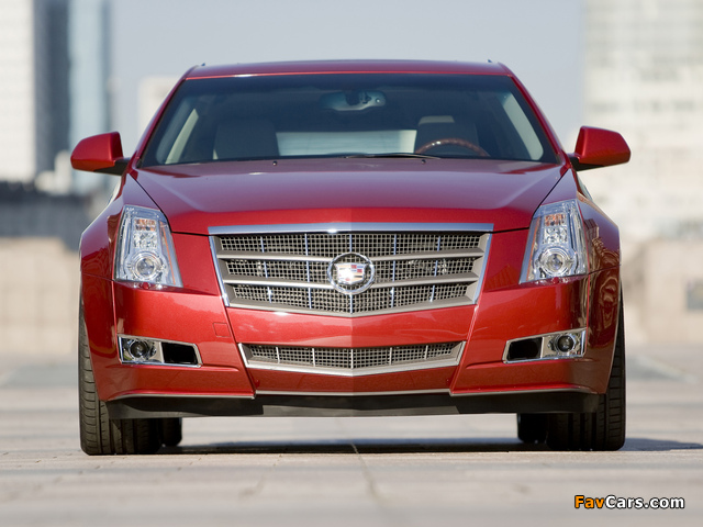Cadillac CTS Sport Wagon 2009 images (640 x 480)