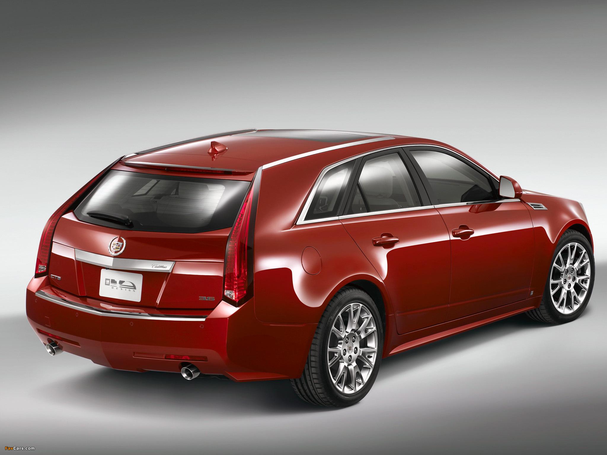 Cadillac CTS Sport Wagon 2009 photos (2048 x 1536)