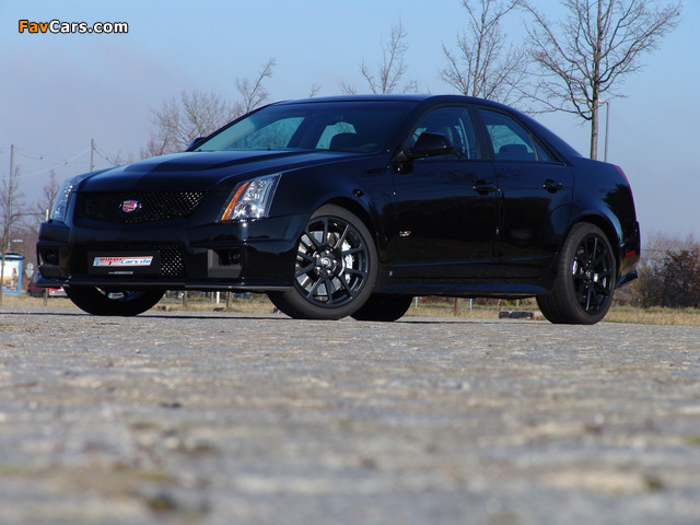 Geiger Cadillac CTS-V Brute Force 2009 photos (640 x 480)