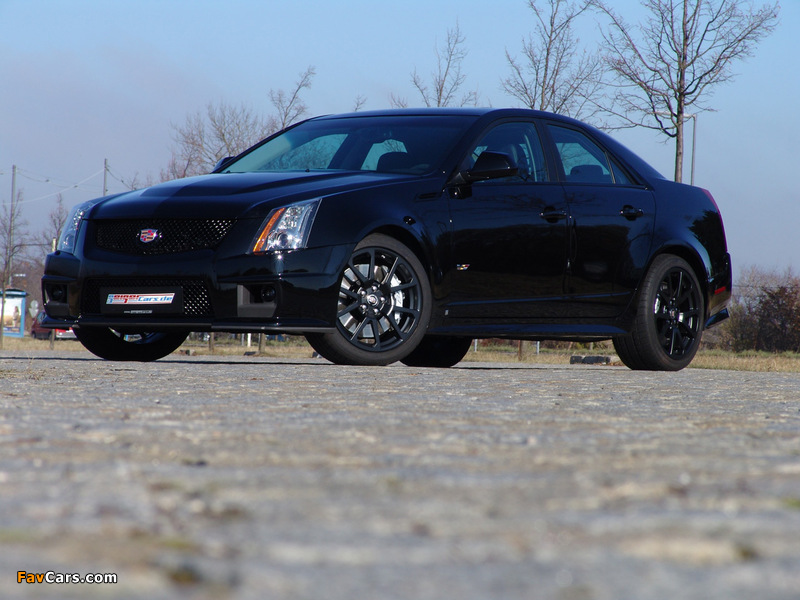Geiger Cadillac CTS-V Brute Force 2009 photos (800 x 600)