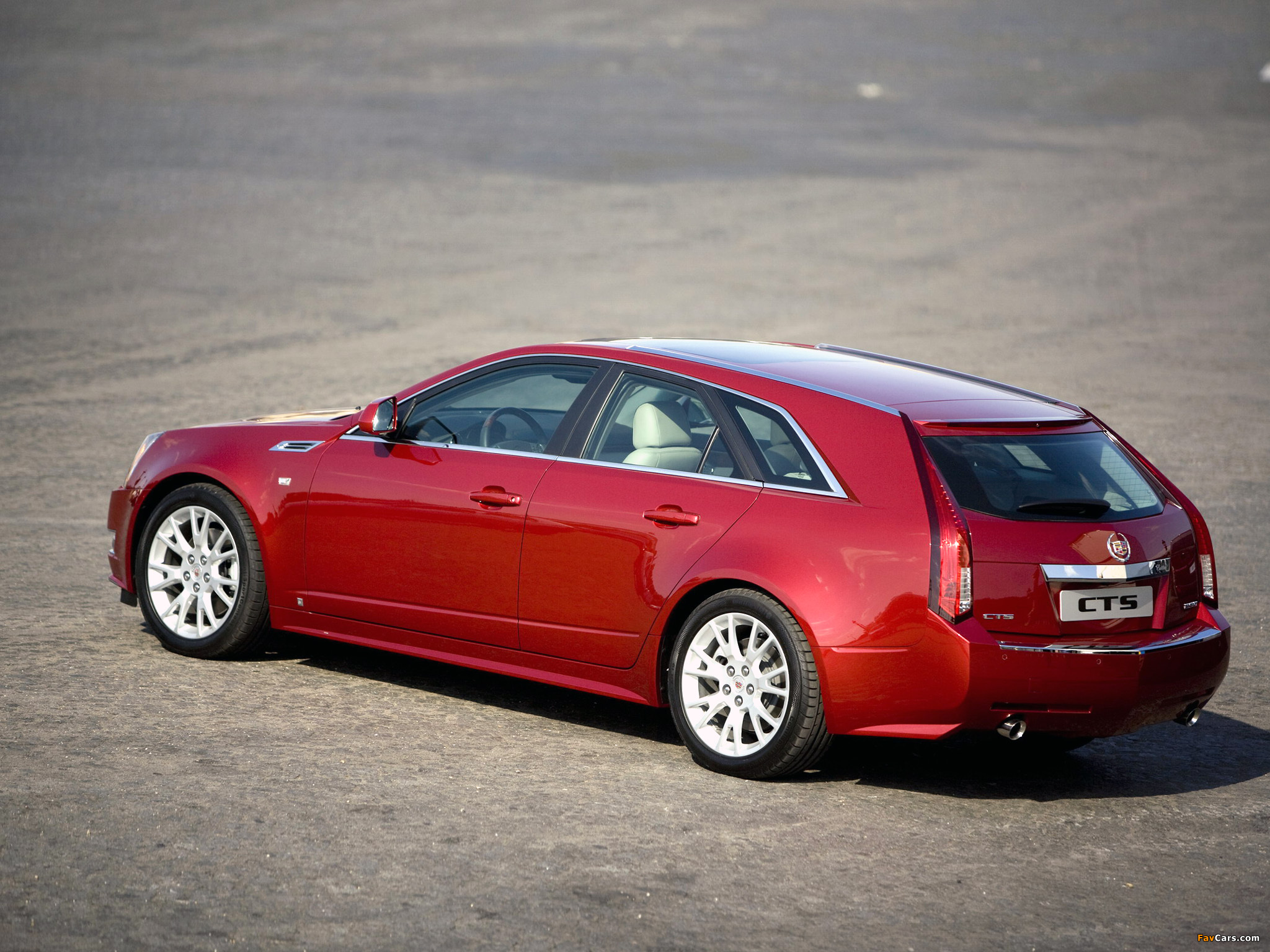 Cadillac CTS Sport Wagon 2009 pictures (2048 x 1536)