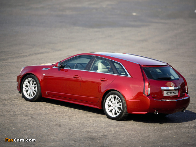 Cadillac CTS Sport Wagon 2009 pictures (640 x 480)