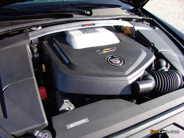 Geiger Cadillac CTS-V Brute Force 2009 pictures (640 x 480)
