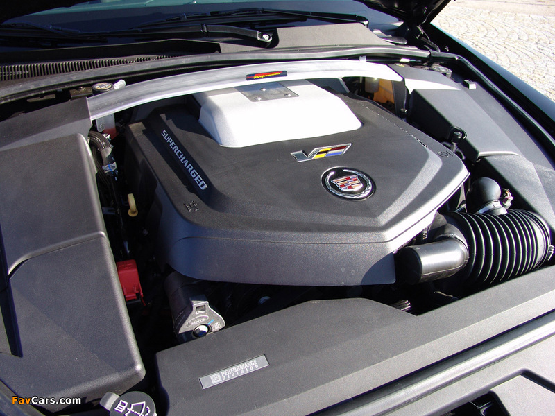 Geiger Cadillac CTS-V Brute Force 2009 pictures (800 x 600)