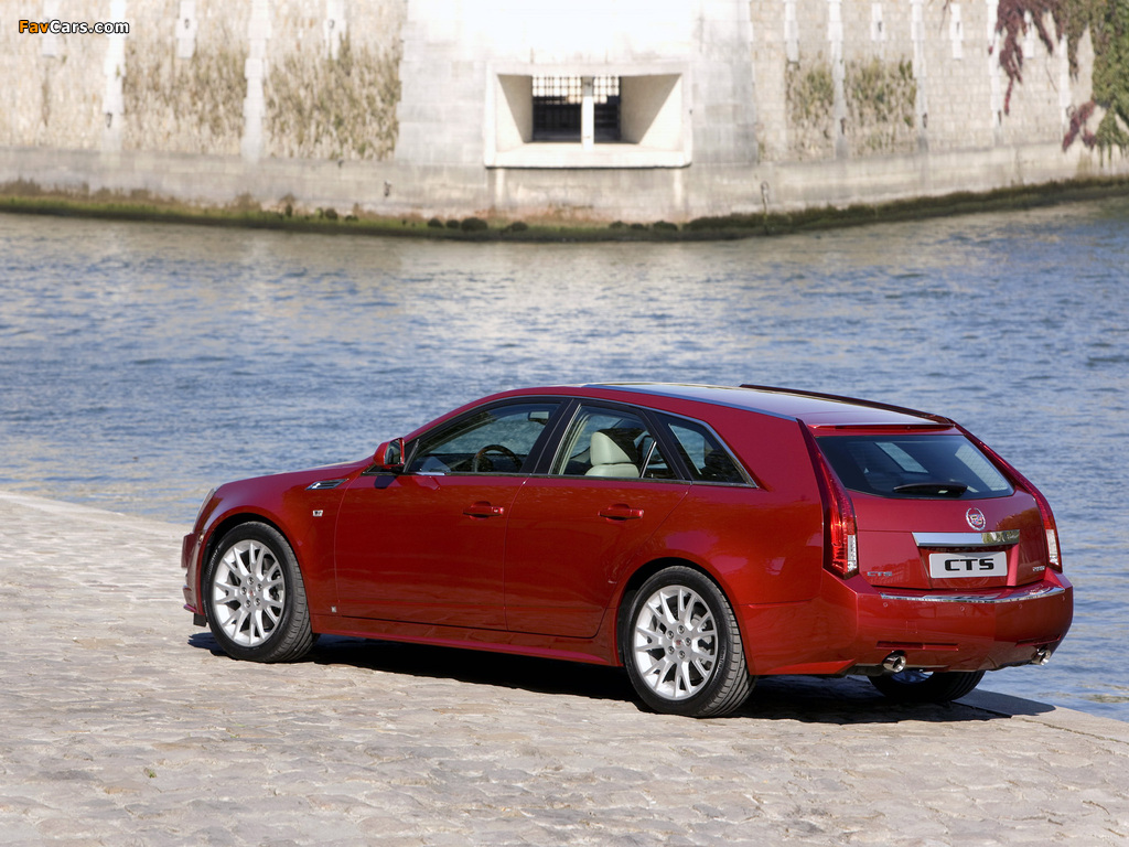Cadillac CTS Sport Wagon 2009 pictures (1024 x 768)