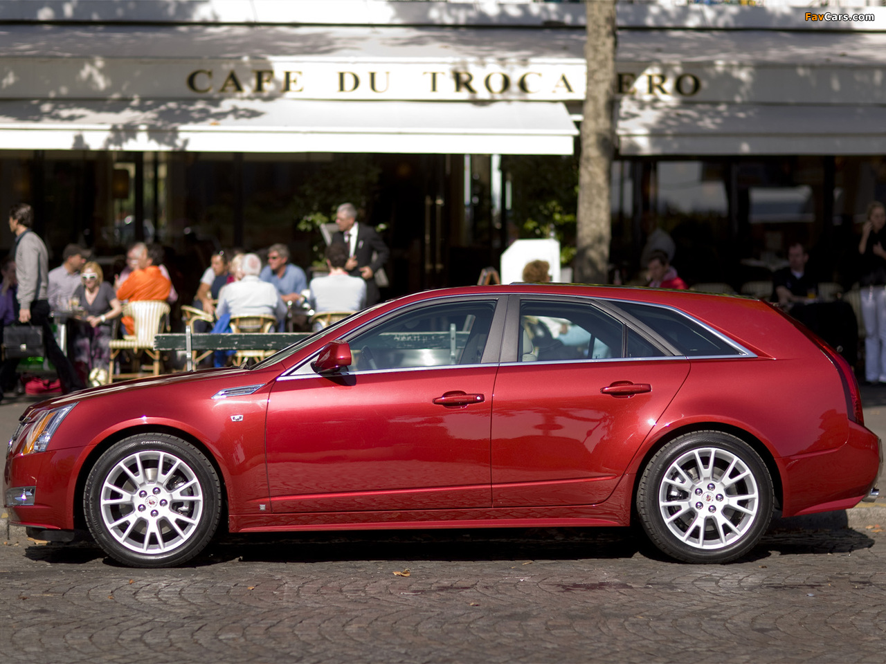Cadillac CTS Sport Wagon 2009 wallpapers (1280 x 960)