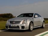 Cadillac CTS-V Coupe EU-spec 2010 images
