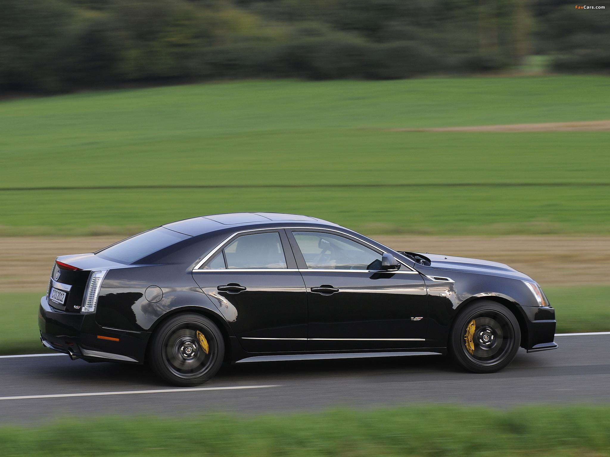 Cadillac CTS-V EU-spec 2010 images (2048 x 1536)