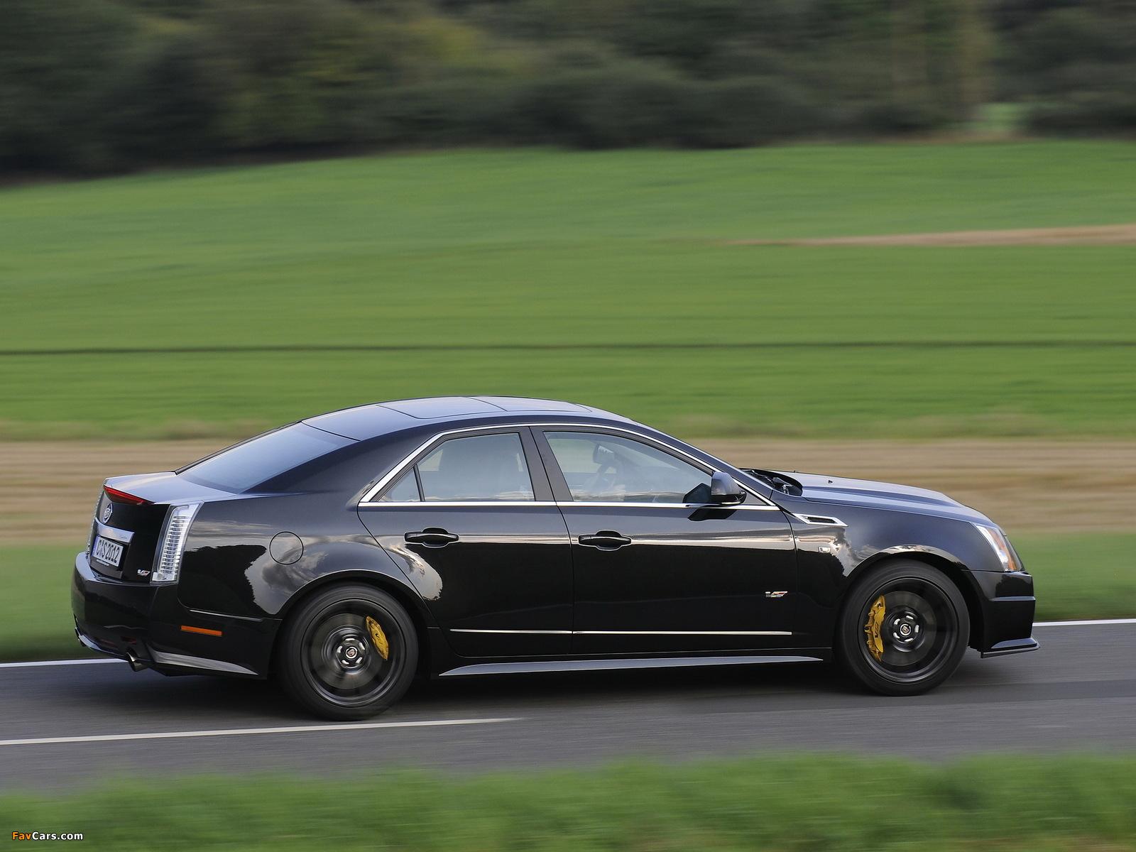 Cadillac CTS-V EU-spec 2010 images (1600 x 1200)