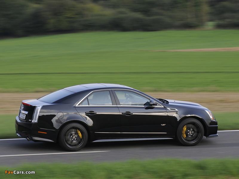 Cadillac CTS-V EU-spec 2010 images (800 x 600)