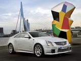 Cadillac CTS-V Coupe EU-spec 2010 photos