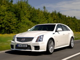 Cadillac CTS-V Sport Wagon EU-spec 2010 photos