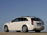 Cadillac CTS-V Sport Wagon EU-spec 2010 pictures