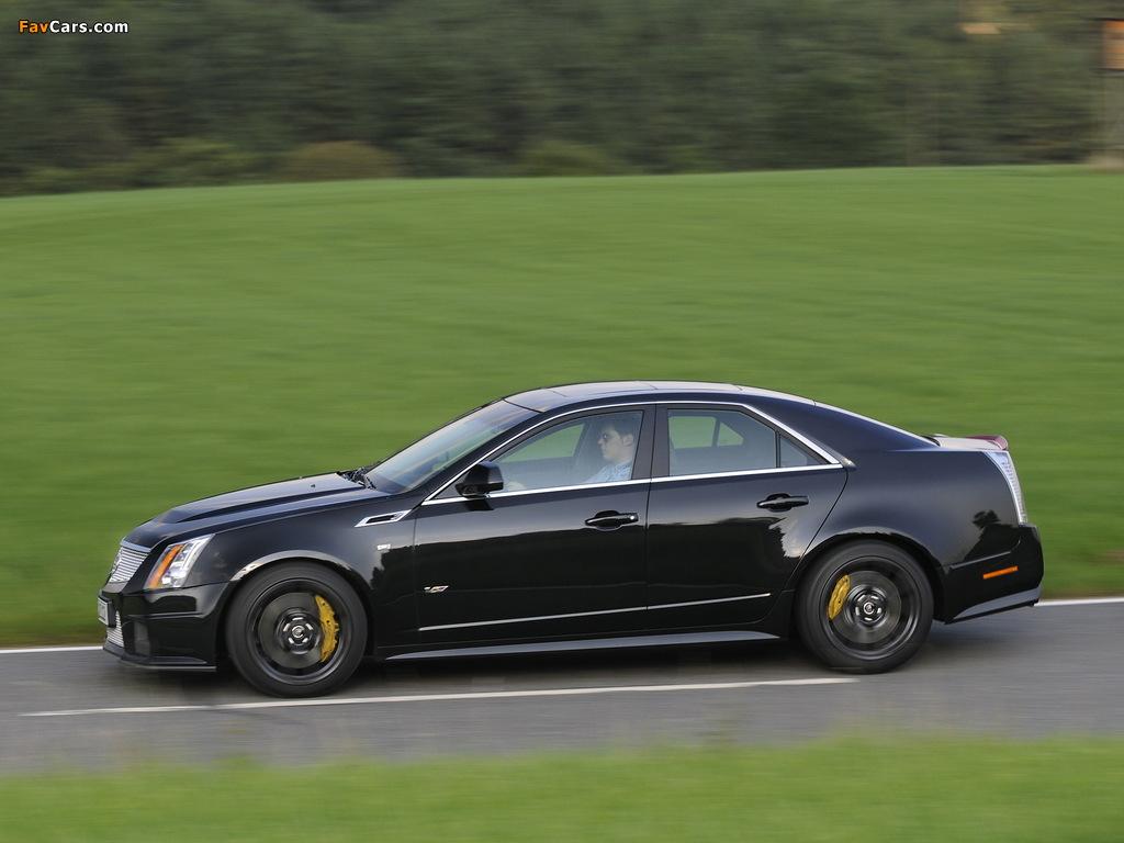 Cadillac CTS-V EU-spec 2010 pictures (1024 x 768)