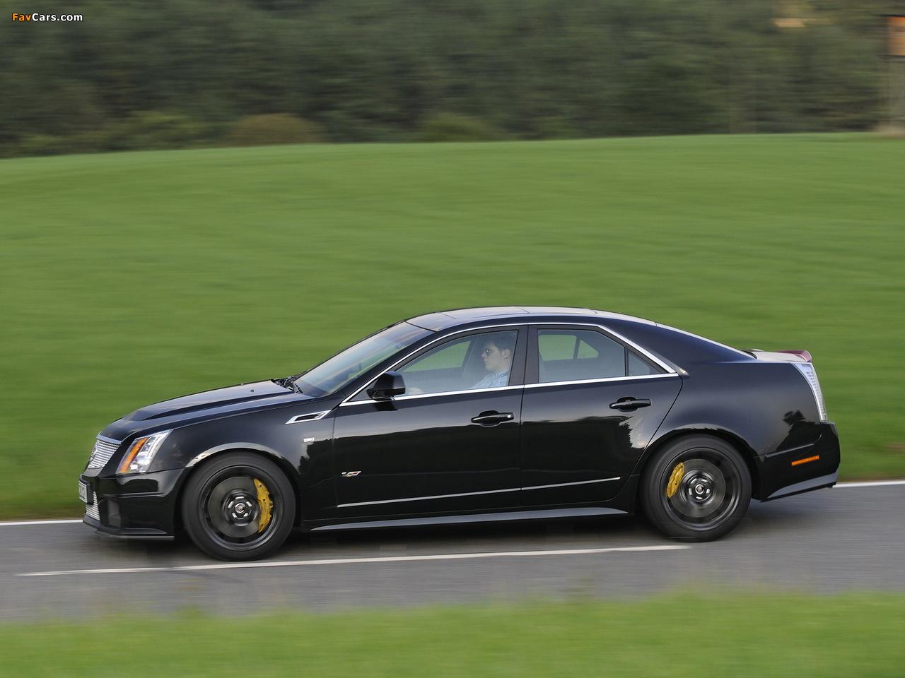 Cadillac CTS-V EU-spec 2010 pictures (1280 x 960)