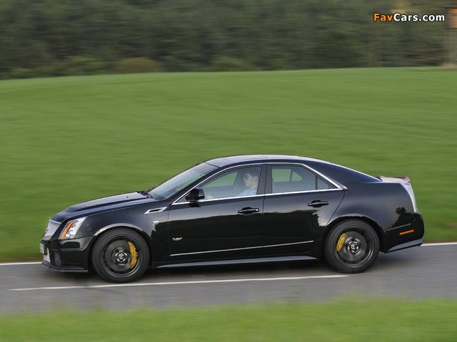 Cadillac CTS-V EU-spec 2010 pictures (640 x 480)