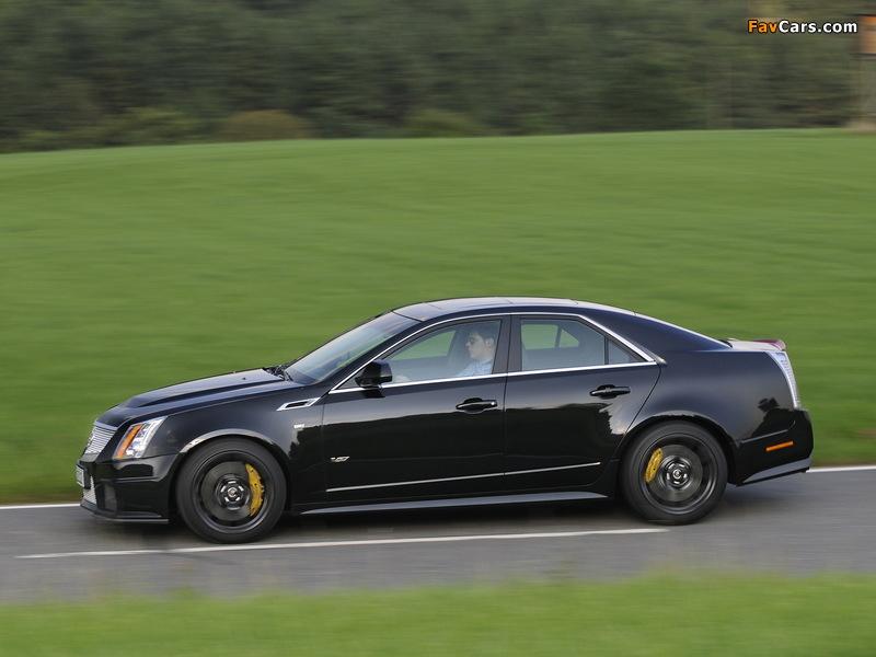 Cadillac CTS-V EU-spec 2010 pictures (800 x 600)