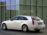 Cadillac CTS Sport Wagon EU-spec 2010 pictures