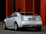 Cadillac CTS-V Coupe EU-spec 2010 pictures