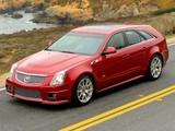 Cadillac CTS-V Sport Wagon 2010 wallpapers