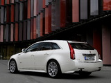 Cadillac CTS-V Sport Wagon EU-spec 2010 wallpapers