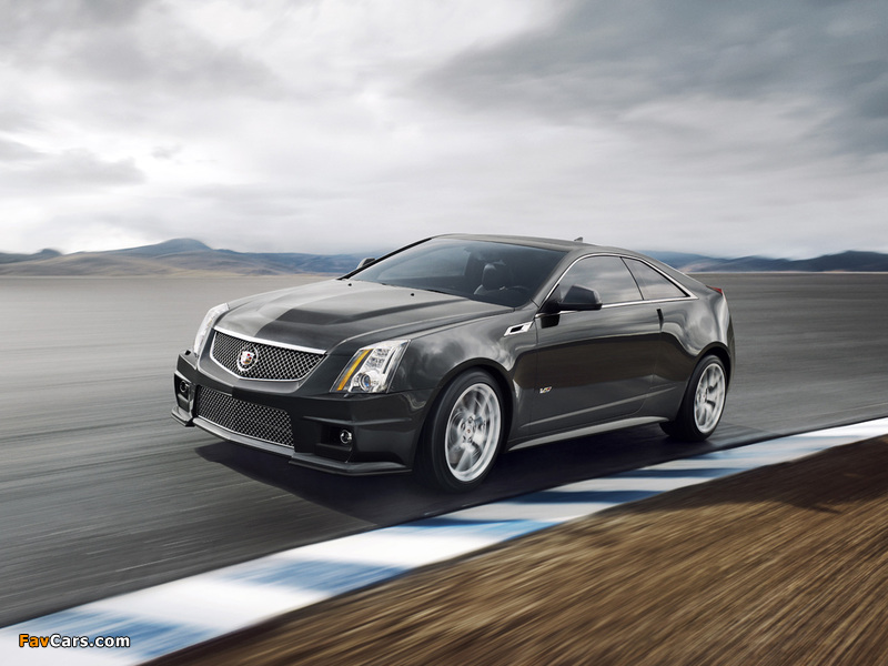 Cadillac CTS-V Coupe 2010 wallpapers (800 x 600)