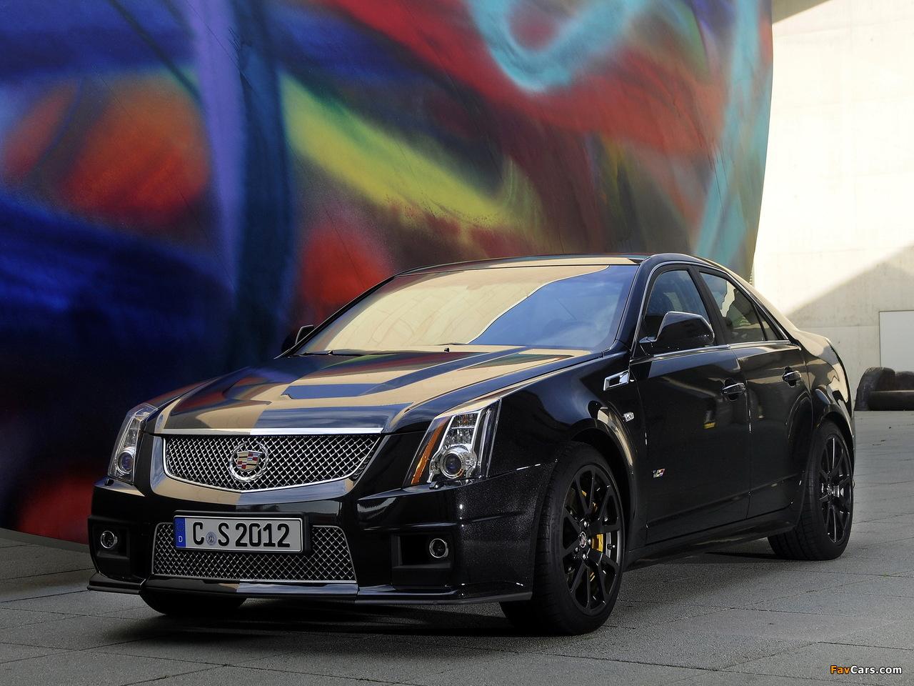 Cadillac CTS-V EU-spec 2010 wallpapers (1280 x 960)