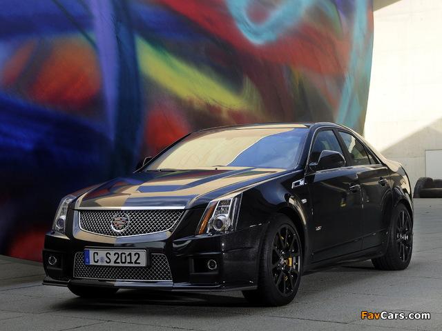 Cadillac CTS-V EU-spec 2010 wallpapers (640 x 480)