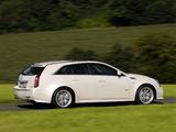 Cadillac CTS-V Sport Wagon EU-spec 2010 wallpapers