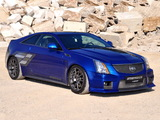 Geiger Cadillac CTS-V Coupe Blue Brute 2011 images