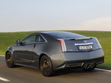 Cadillac CTS-V Coupe Black Diamond EU-spec 2011 pictures