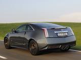 Cadillac CTS-V Coupe Black Diamond EU-spec 2011 pictures