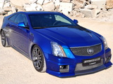Geiger Cadillac CTS-V Coupe Blue Brute 2011 pictures